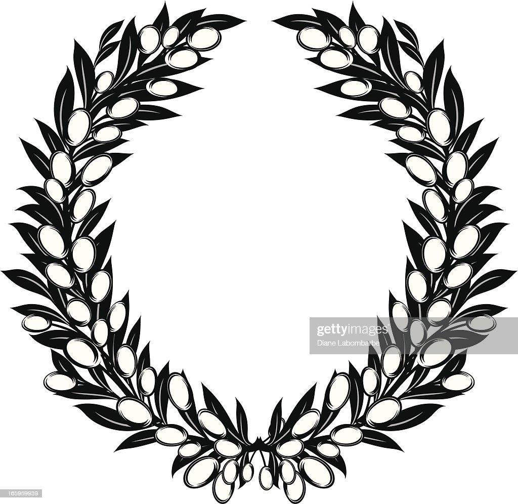 Olives Laurel Wreath