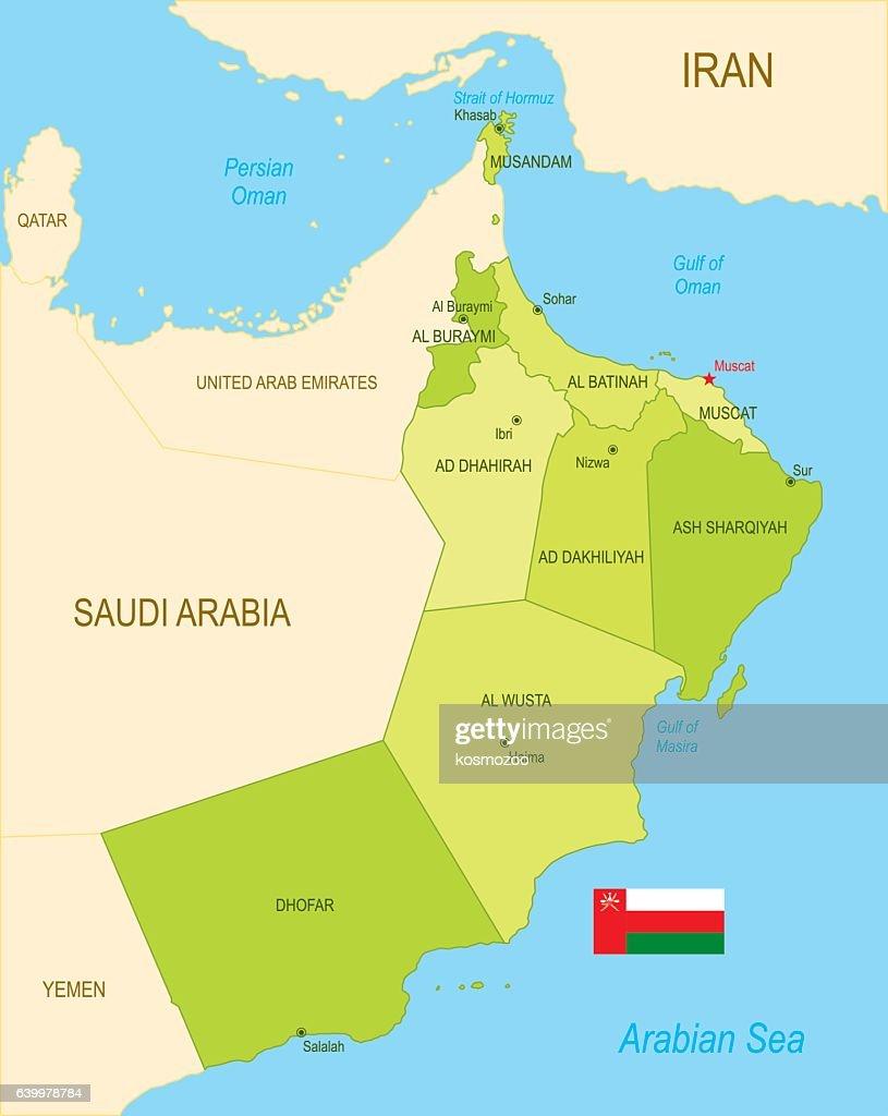 Oman : stock illustration