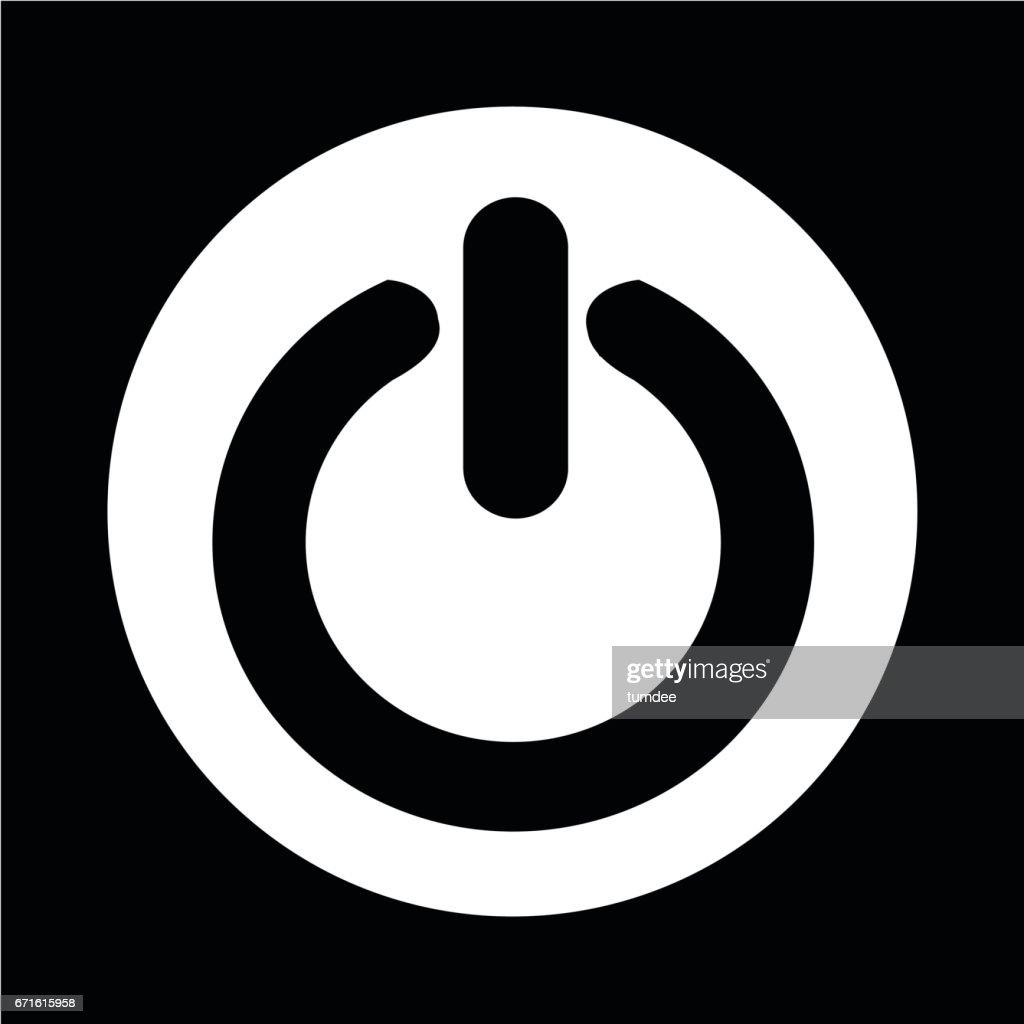 Symbol Auf Ausschalten Vektorgrafik   Getty Images