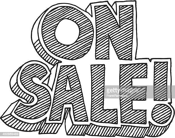 Im Sale! Comic-Stil-Text-Abbildung