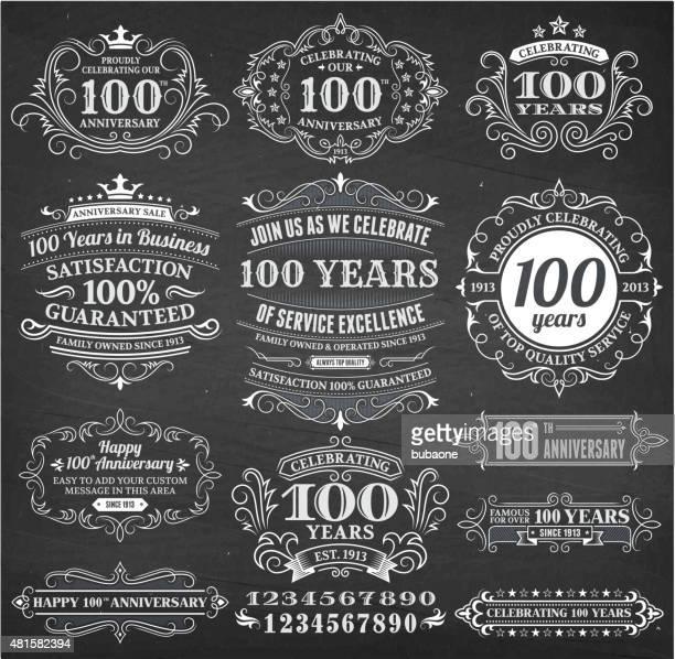 illustrations, cliparts, dessins animés et icônes de billet de 100 ans dessinés à la main tableau fond vectorielles libres de droits - fleur de lys