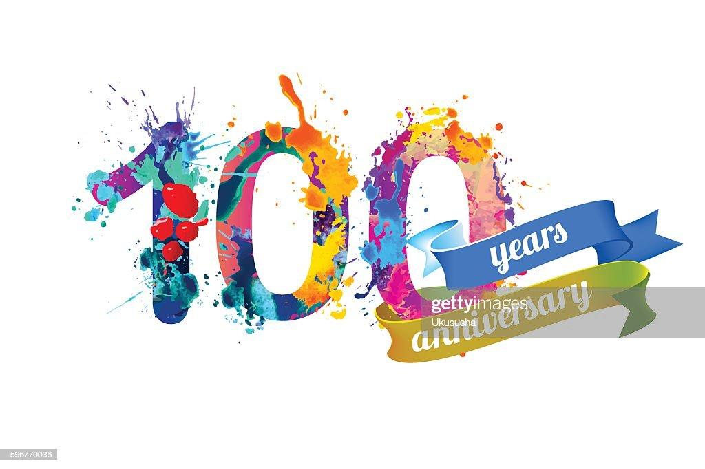One hundred years anniversary