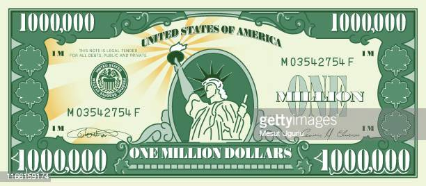 one million dollar currency - millionnaire stock illustrations, clip art, cartoons, & icons
