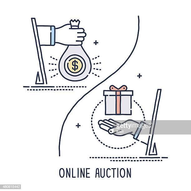 Online Auction Symbol