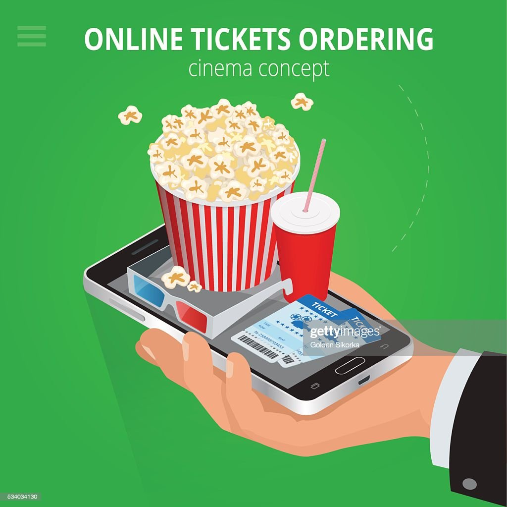 Online cinema tickets ordering