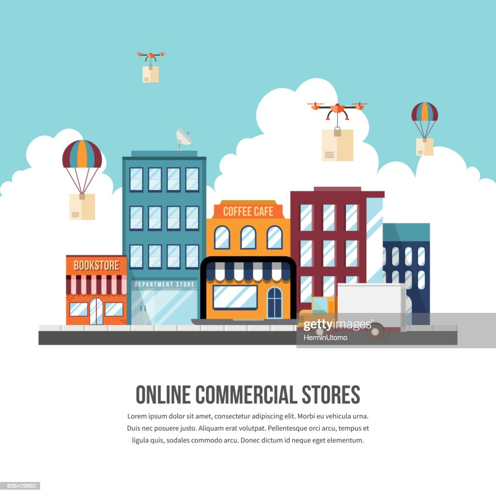 Online Commercial Stores