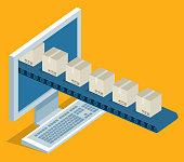 Online delivery - desktop
