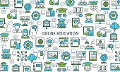 Online education banner