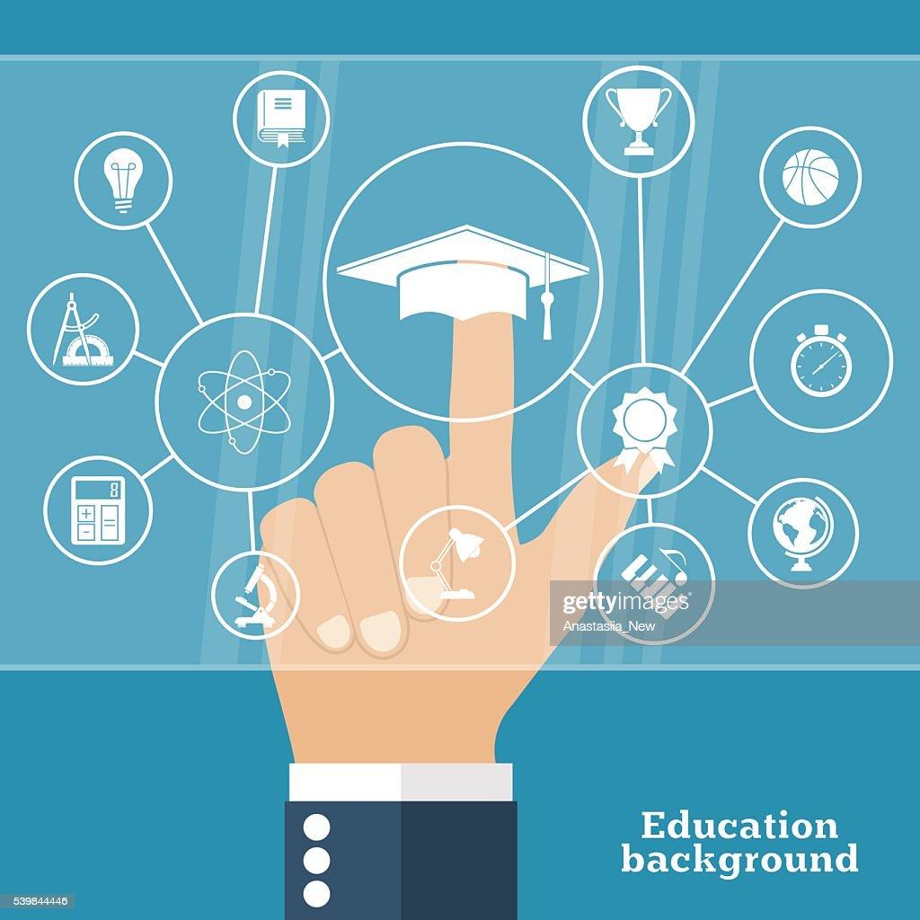 Online education, e-learning.
