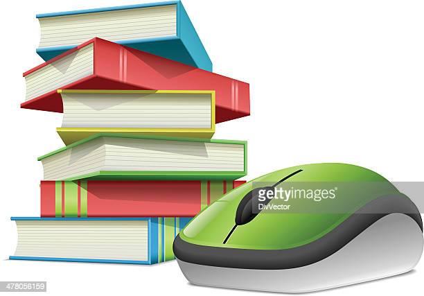 ilustrações, clipart, desenhos animados e ícones de on-line informações - livro de capa dura