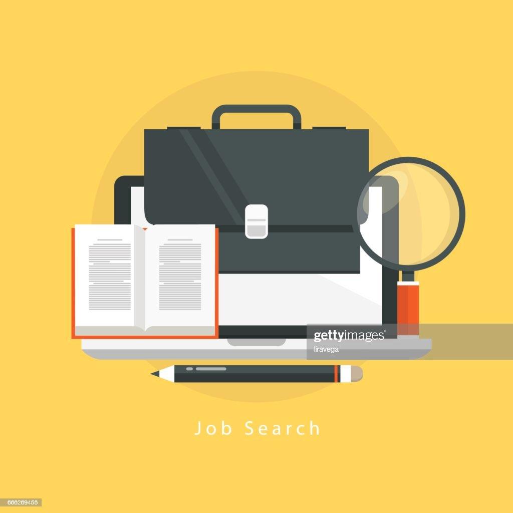 Online job search, online job, freelance work