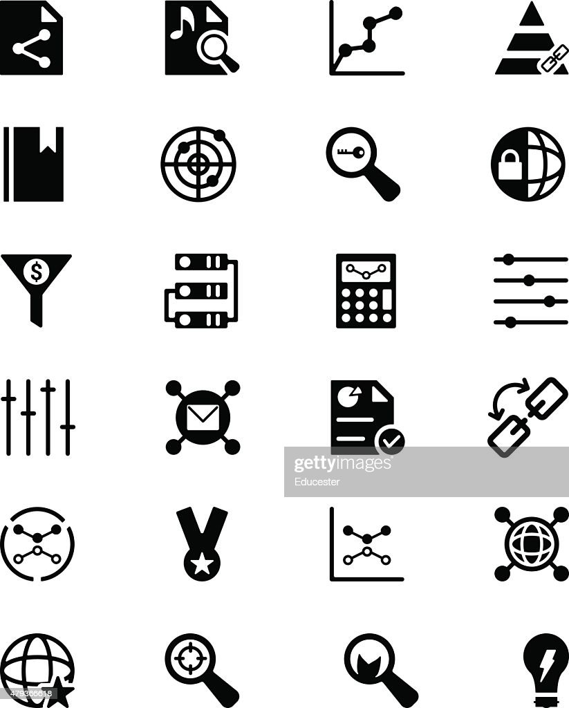 Online Marketing Vector Icons 3