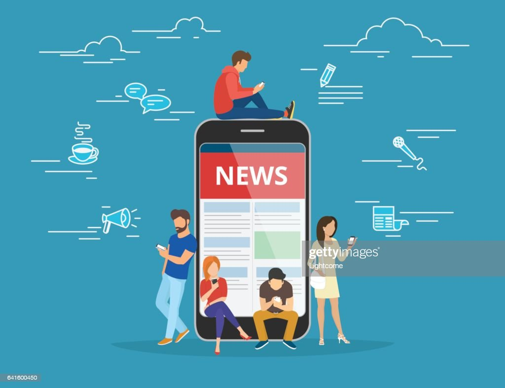 Online reading news