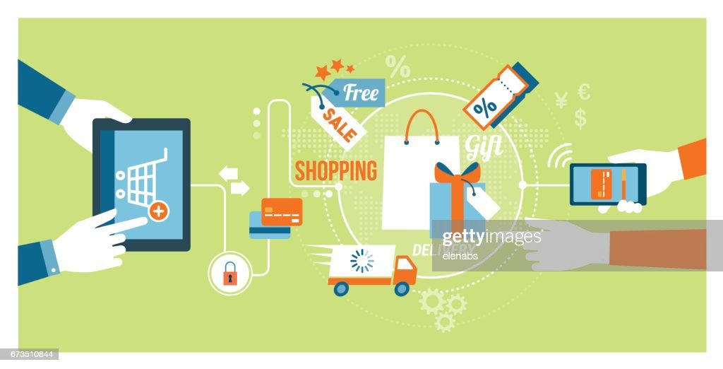 Online shopping and apps