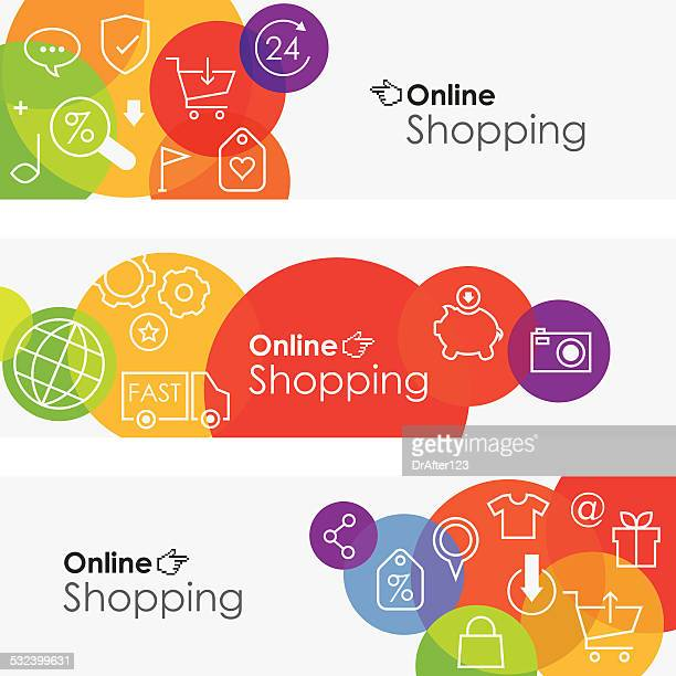 Online Shopping Banners