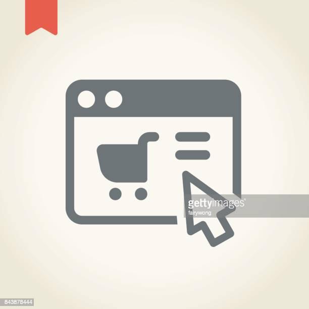 Icône de la boutique en ligne
