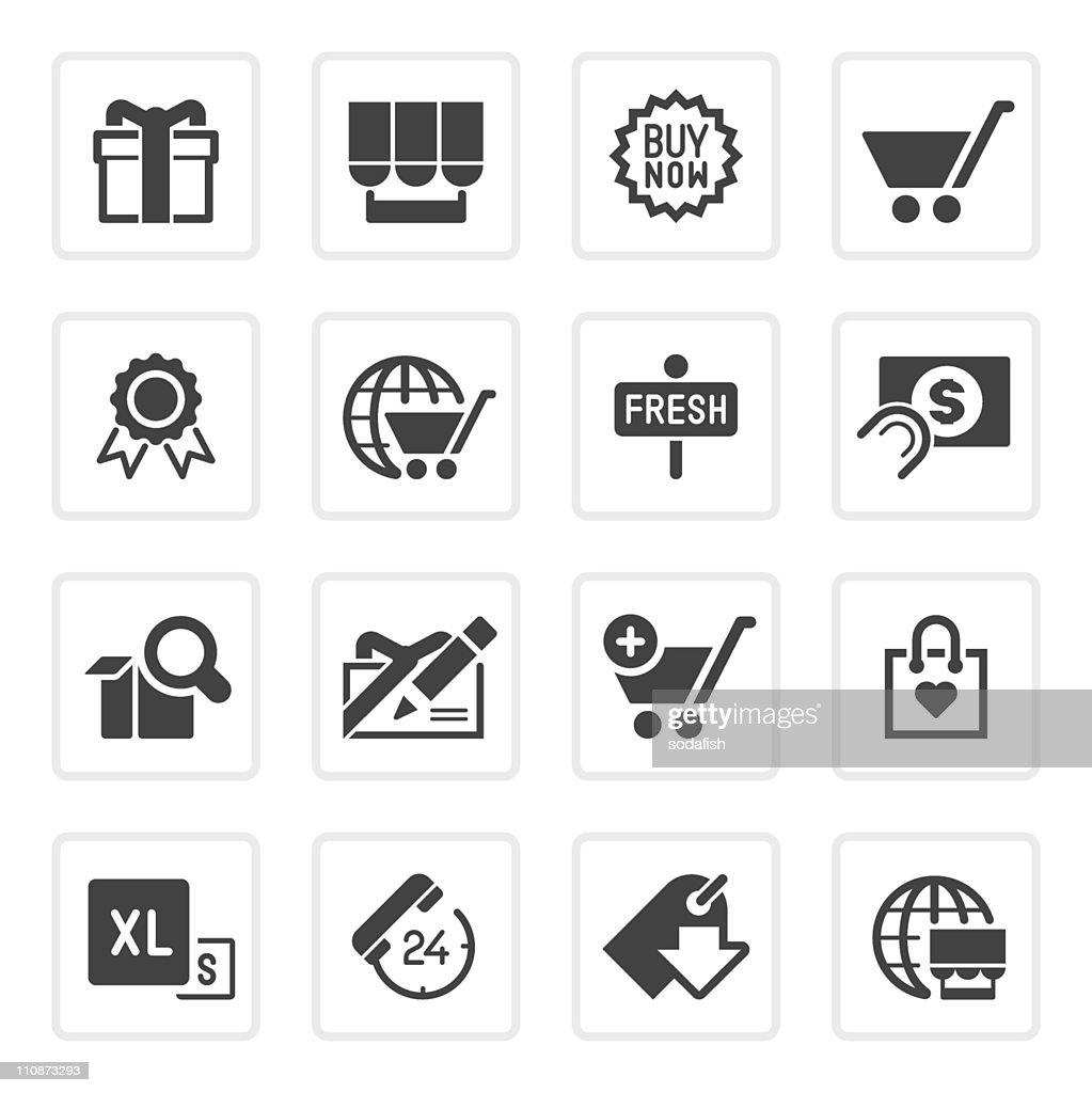 Online shopping icons | prime series