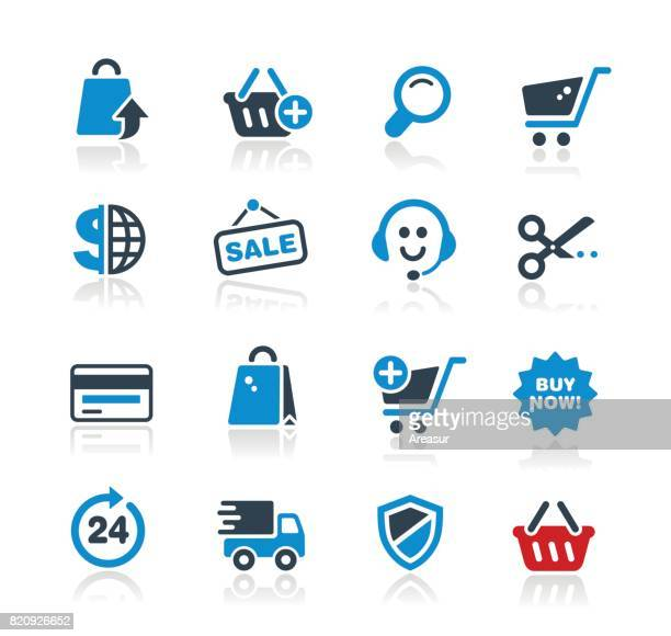 Online Shopping Icons // Two Colors Pro Series