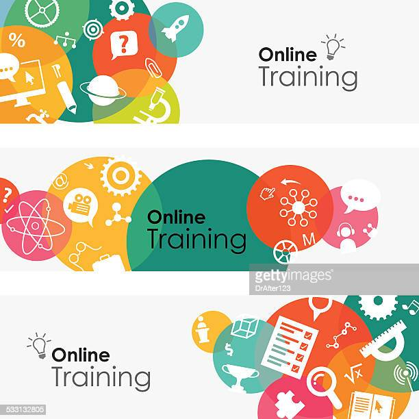 Online Training Banners