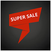 Only Mega Sale banner. Big super sale