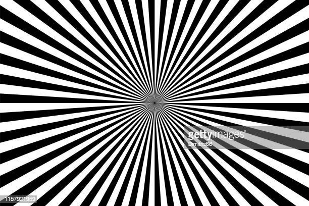 op art: abstract diminishing perspective background - vanishing point stock illustrations