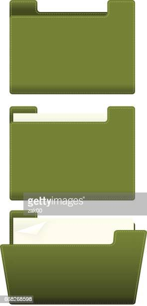open and close folder - closed stock illustrations, clip art, cartoons, & icons