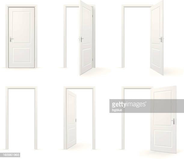 Portas abertas e fechadas