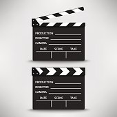 Open and closed movie flap template