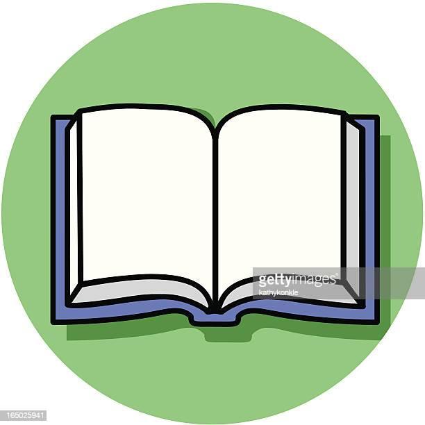 ilustrações, clipart, desenhos animados e ícones de livro aberto 02 ícone - bíblia