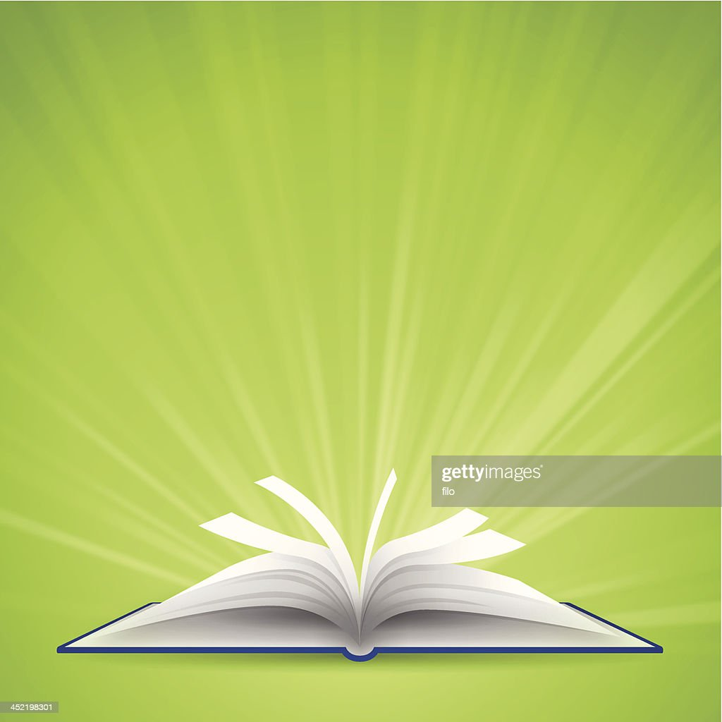 Open Book with Space for Text