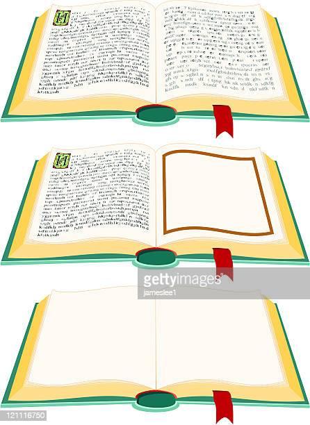 open books - enciclopedia stock-grafiken, -clipart, -cartoons und -symbole