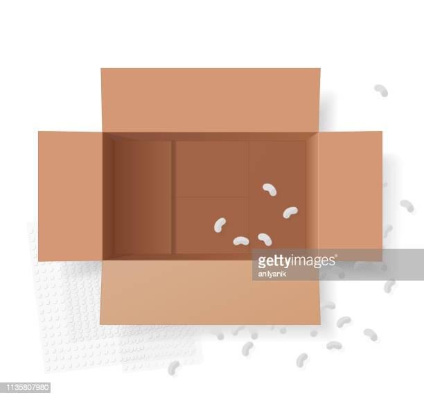 offene box - niemand stock-grafiken, -clipart, -cartoons und -symbole