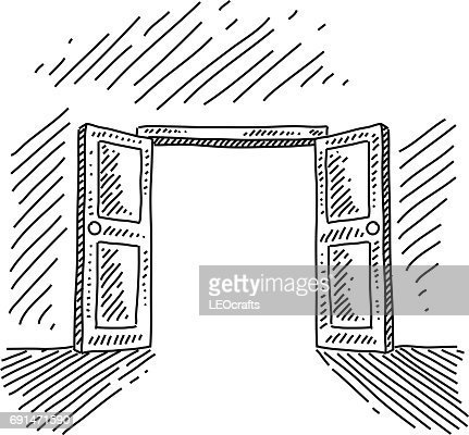 open door drawing. Open Door Drawing A