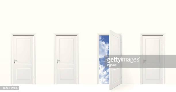 Porta aberta para o céu