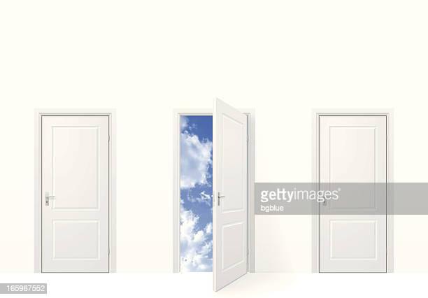 open door to sky - closed stock illustrations, clip art, cartoons, & icons