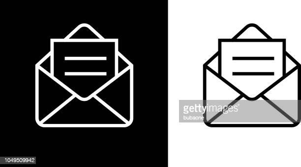 open email envelope icon - e mail stock illustrations