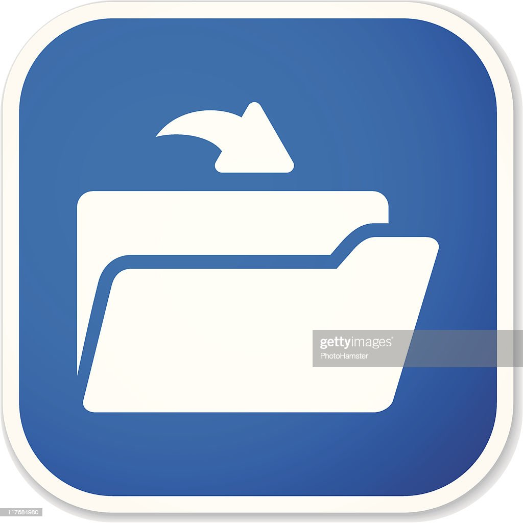 open folder sq sticker