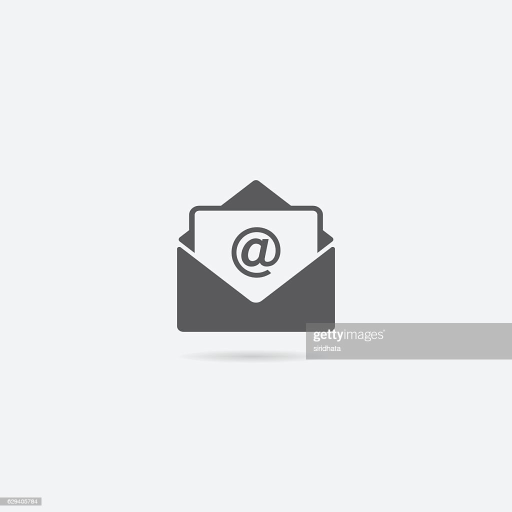 Open Letter or Mail Icon