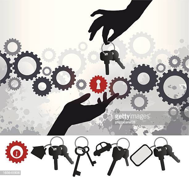 open the solution - access control stock illustrations, clip art, cartoons, & icons