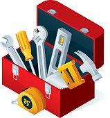 Open toolbox with Tools