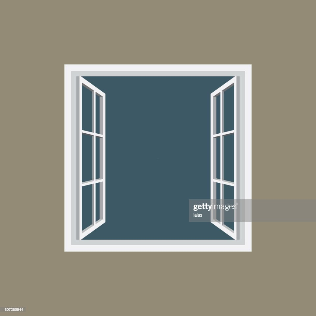 Open window frame icon