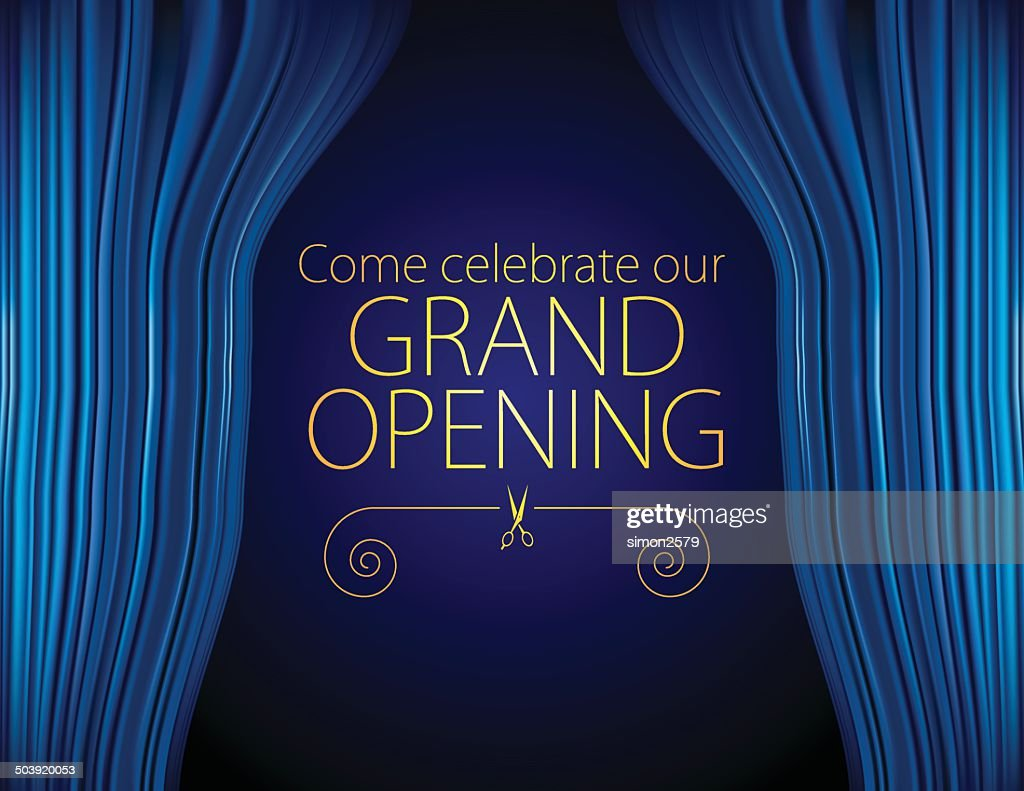 Opening invitation design vector art getty images opening invitation design vector art stopboris Image collections
