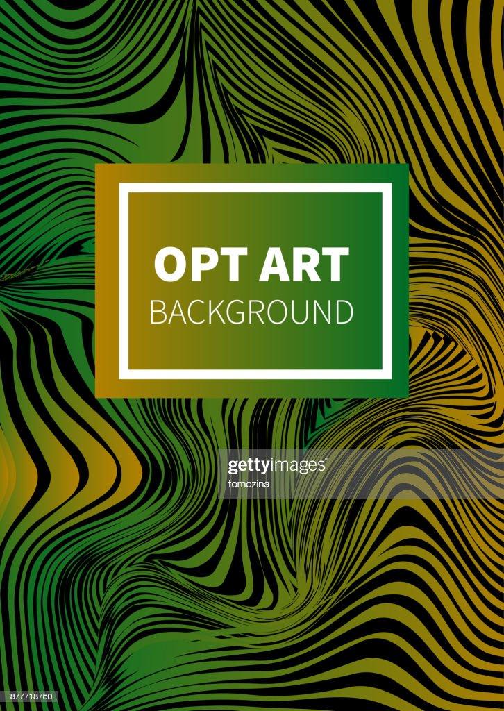 Opt art card
