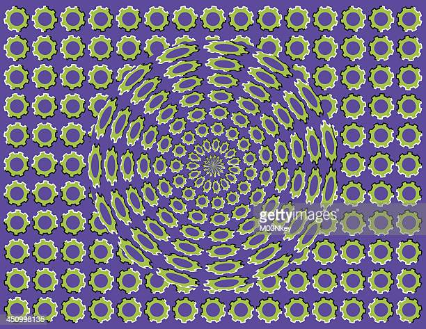 Optical Illusion Background