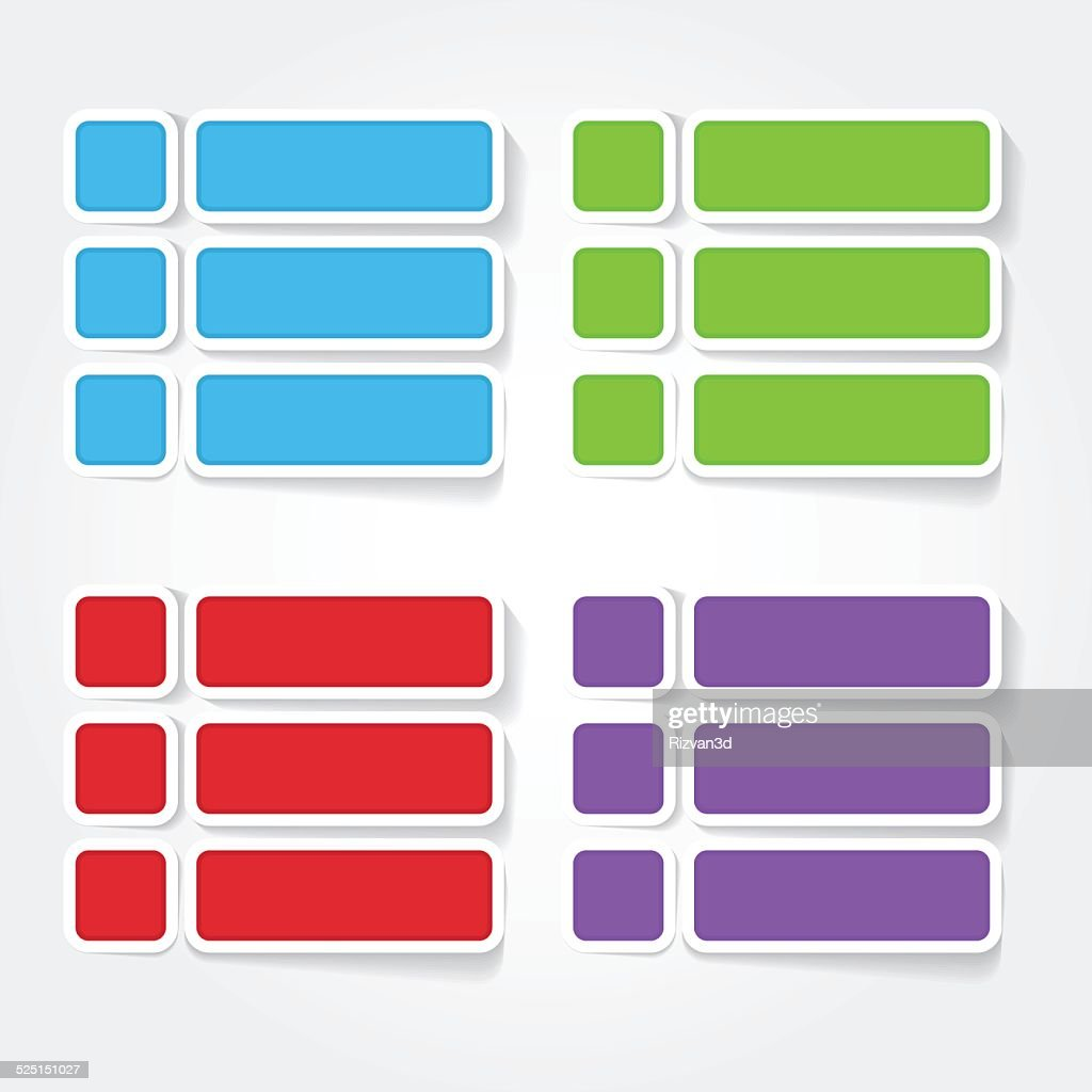Option Colorful Vector Icon Design
