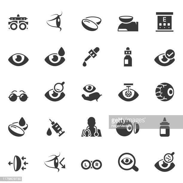 検眼アイコン - 検眼医点のイラスト素材/クリップアート素材/マンガ素材/アイコン素材