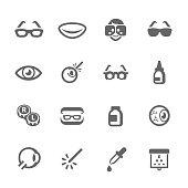 Optometry icons