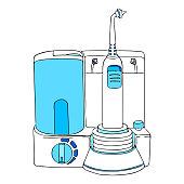 oral irrigator water flosser teeth brushing