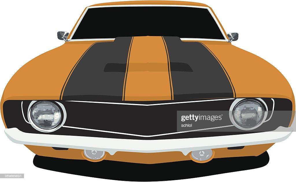 Orange 1969 Camaro