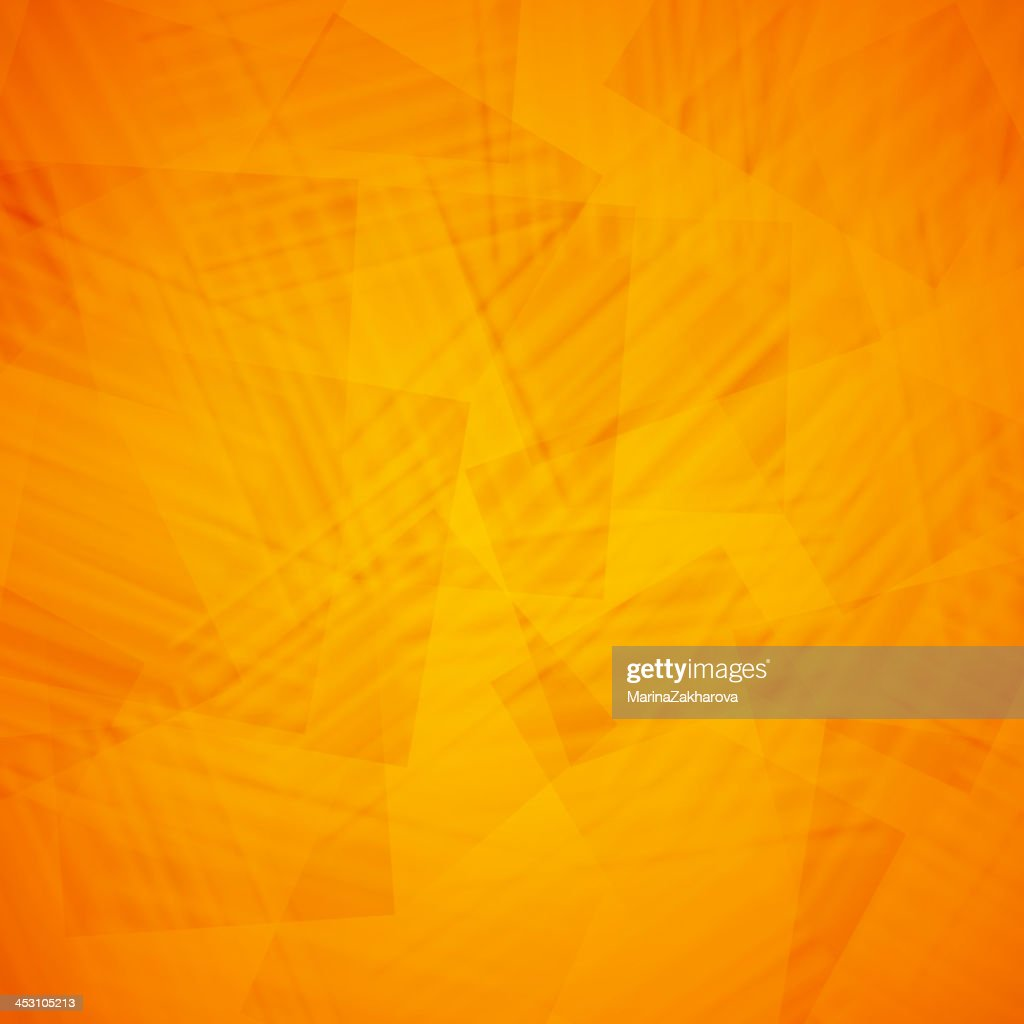 Orange Abstract Background Design High Res Vector Graphic